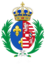 CoA of Elizabeth of Austria (queen of France).png