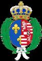 CoA of Elizabeth of Austria (queen of France).png