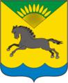 Coat of Arms of Karasuk rayon (Novosibirsk oblast).png
