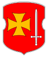 Coat of Arms of Kryčaŭ, Belarus.svg