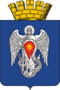 Coat of Arms of Mikhaylovka (Volgograd Oblast) 2009.png