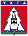 Coat of Arms of Ukhta (Komia) (1979).png