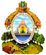 Coat of arms of Honduras.svg