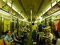 Coche R62A, línea 1 del Subte de Nueva York (8336540886).jpg