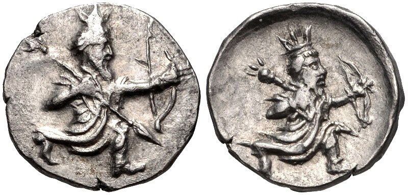 Coin minted in Mallos in Achaemenid Cilicia