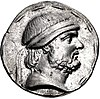 Coin of Phraates II (cropped), Seleucia mint.jpg
