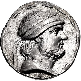Phraates II - Coin of Phraates II, minted at Seleucia in 129 BC
