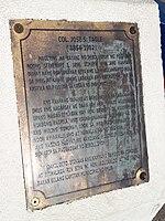 Col. Jose S. Tagle commemorative plaque.jpg
