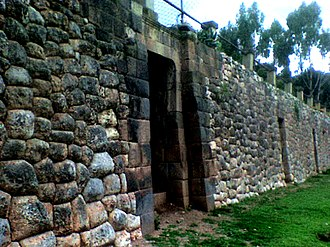 Manco Cápac - Walls of Colcapata, which served as Manqu Qhapaq's palace.