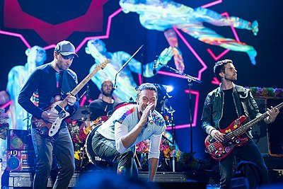 Picture of a band or musician: Coldplay