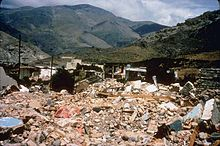 Collapse of Unreinforced Masonry Buildings, Iran (Persia) - 1990 Manjil Roudbar Earthquake.jpg