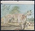 Collectie NMvWereldculturen, RV-1403-3649, Waterverfschildering- Tekening, Mr Adrianus Johannes Bik, voor 1872.jpg