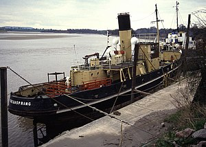 RFA Freshspring - Freshspring at Collow Pill, Newnham on Severn, 1992