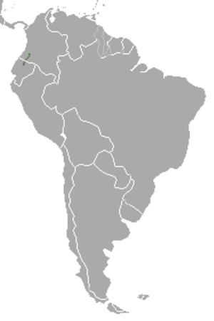 Colombian weasel - Image: Colombian Weasel area