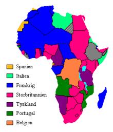 hvad er hovedstaden i afrika