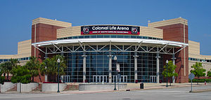 Die Colonial Life Arena in Columbia