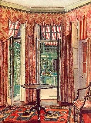 Aubrey de Sélincourt - Room in Martin de Selincourt's house, 1926