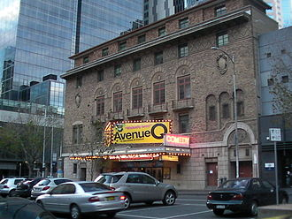Comedy Theatre, Melbourne - Image: Comedy Theatre Melbourne 1
