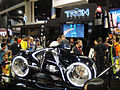Comic-Con 2010 - Disney Tron Legacy booth - light cycle (4859615650).jpg