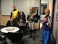 Comic-Con 2010 - Klingons and a Ferengi in the green room at San Diego Fox 5 KSWB at 5am (4874853358).jpg