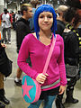 Comikaze Expo 2011 - Ramona Flowers from Scott Pilgrim vs the World (6324629045).jpg