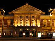 Concertgebouw Amsterdam Night View