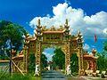 Cong Chua Giac Nguyen, Xa Tân Tập, Cần Giuộc, Long An, Việt Nam - panoramio.jpg