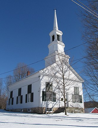 Salisbury, Vermont - Salisbury Congregational Church