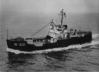 USCG seagoing buoy tender - Image: Conifer WLB 301