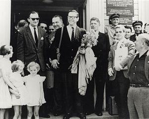 Willis Conover - Conover's first arrival in Poland (1959)