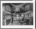 Constantinople. St. Sophia - general view interior LCCN92513536.jpg