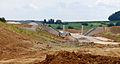 Construction Site of LGV Rhin-Rhône near Villargent in July 2008 - Westbound.jpg