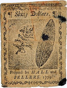 Continental Currency $60 banknote reverse (January 14, 1779).jpg