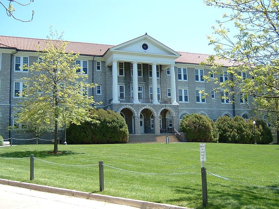 James Madison University in Harrisonburg, Va., established in 1908