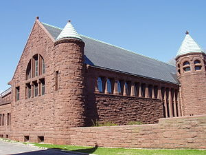 Converse Memorial Library - Image: Converse Memorial Library (Malden, MA) end view