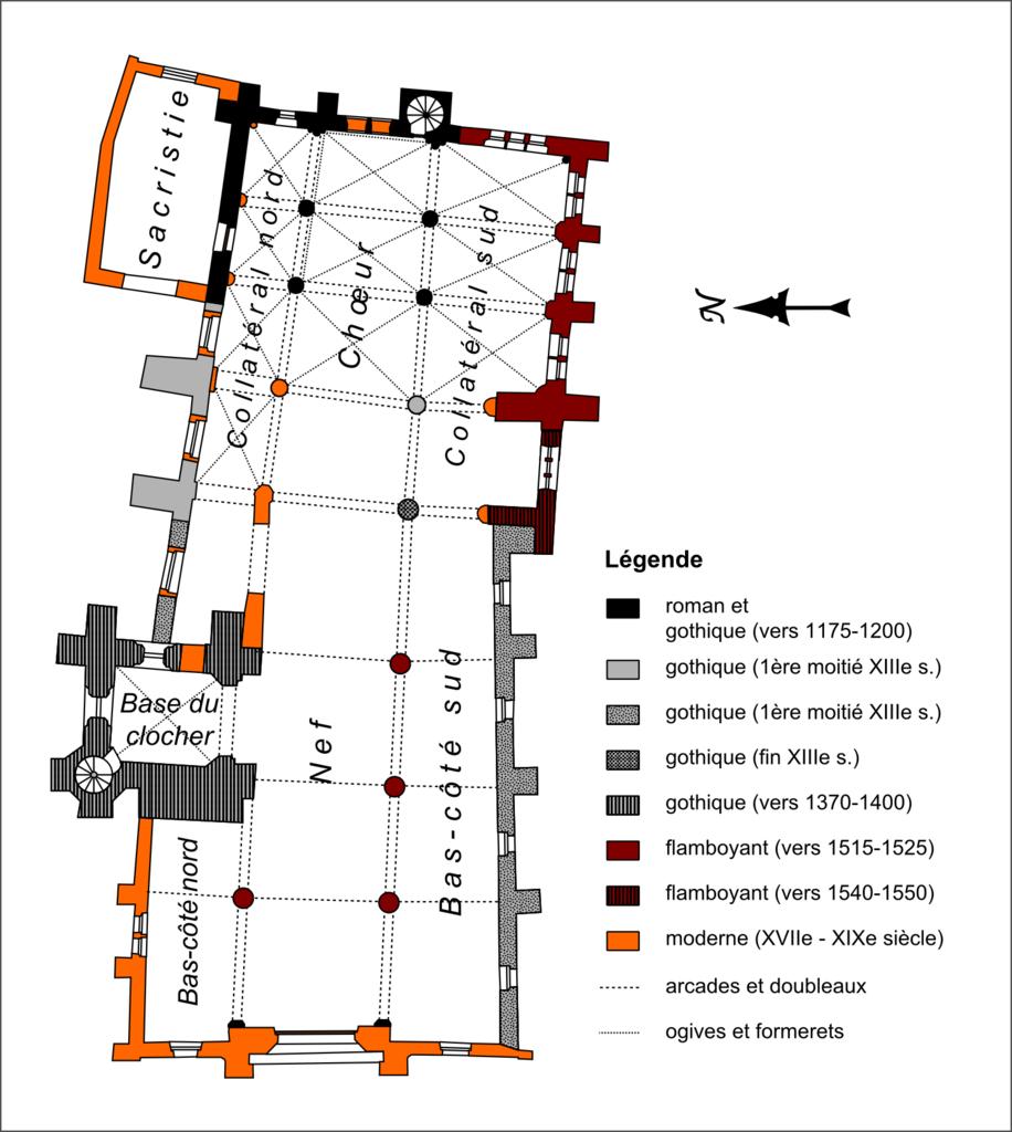 fichier cormeilles en parisis 95 glise saint martin plan wikip dia. Black Bedroom Furniture Sets. Home Design Ideas