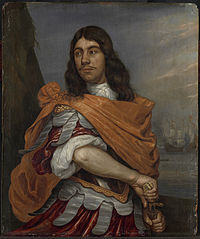 Cornelis Tromp (1629-91), Vice admiral, in Roman costume