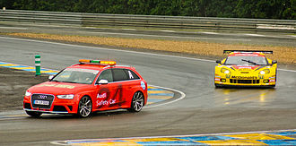 Safety car - Audi RS 4 - safety car at racing 24 Hours of Le Mans