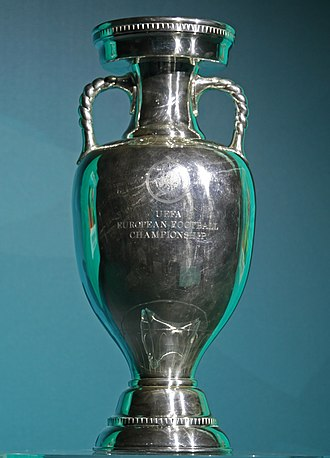 UEFA European Championship - The current trophy