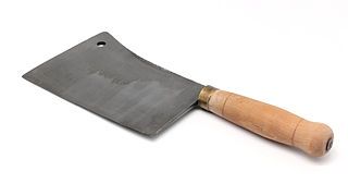 Cleaver large knife