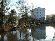 One of several mills on the River Dour downstream of Kearsney