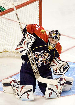 Craig Anderson (ice hockey) - Anderson during his time with the Panthers.