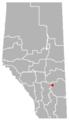 Craigmyle, Alberta Location.png
