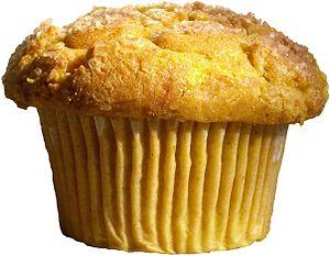 English: A cranberry muffin