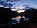 Crepuscolo sul lago di Barrea.jpg