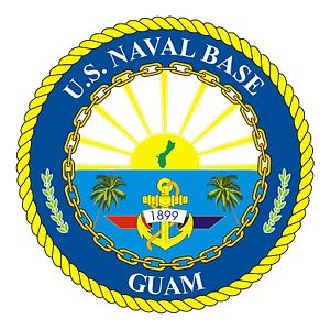 Naval Base Guam - Image: Crest of Naval Base Gua