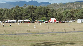 Maryvale, Queensland (Southern Downs Region) - Cricket match, 2015
