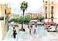 Croquis- Montpellier - France (6791663890).jpg