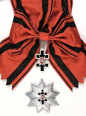 Cross of Lorraine - Image: Cross of Vytis