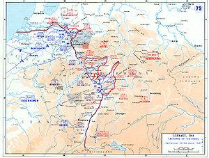 De Vestallieredes Invasion Af Tyskland Wikipedia Den Frie